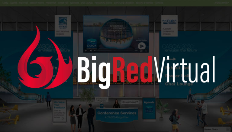 Born Out Of Frustration, Big Red Virtual Hits Home Run, Solving Major Problems For Companies Holding Virtual Events
