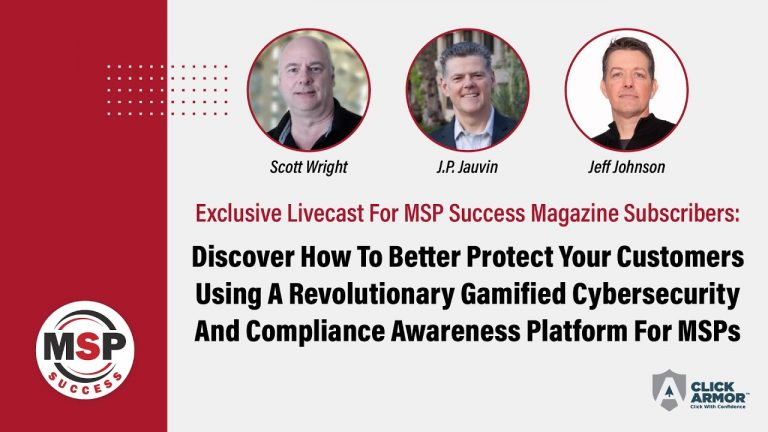See A Live-Action Demonstration Of A Revolutionary Gamified Cybersecurity and Compliance Awareness Platform That Your Clients Will Actually Want To Use