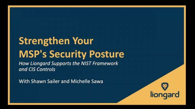 How MSPs Can Build A Strong Security Foundation Using 5 Easy To Follow Tasks