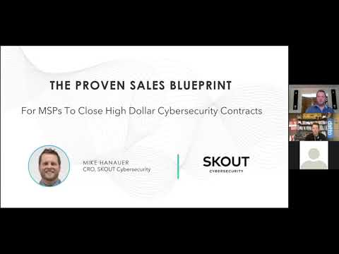Proven Sales Blueprint For MSPs To Close High Dollar Cybersecurity Contracts